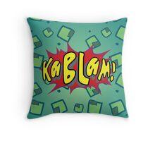 Kablam! V2 Throw Pillow