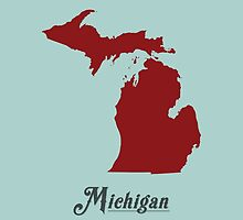 Michigan - States of the Union by Michael Bowman