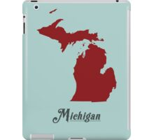 Michigan - States of the Union iPad Case/Skin