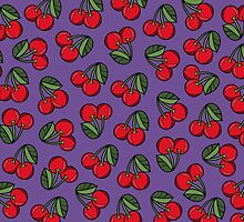 CHERRY - PURPLE by tosojourn