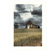 Church at Wallendbeen Art Print