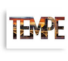 Tempe Town Lake Canvas Print