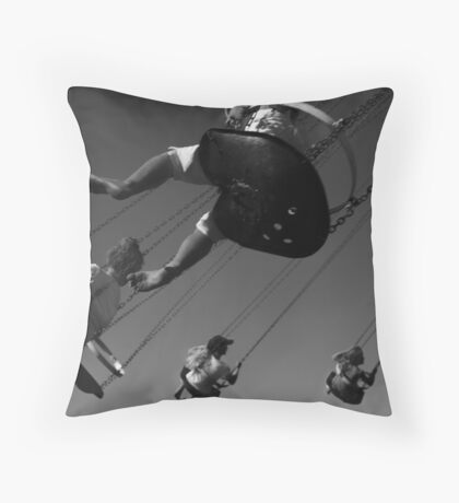 Spinning out of control. Throw Pillow