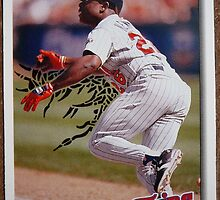 095 - Al Newman by Foob's Baseball Cards