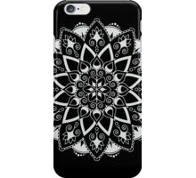 Mandala - White/Black iPhone Case/Skin