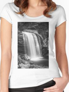 Looking Glass Falls Women's Fitted Scoop T-Shirt