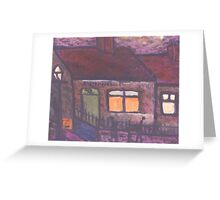 Benwell post office Greeting Card