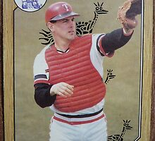 099 - Tim Laudner by Foob's Baseball Cards
