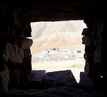 Window to the mountains by sabosha