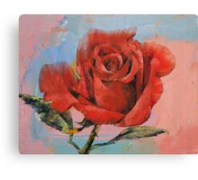 Rose Painting Canvas Print