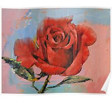 Rose Painting Poster