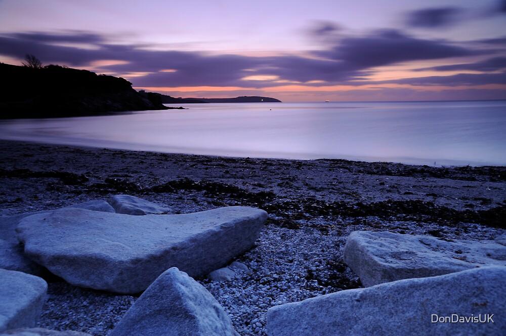 Sunrise Falmouth Cornwall UK by DonDavisUK