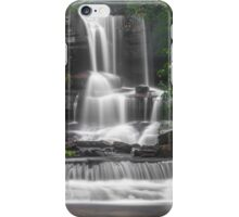 Waterfall Through the Trees iPhone Case/Skin