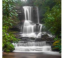 Waterfall Through the Trees Photographic Print