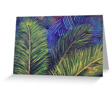 Cycad in the breeze Greeting Card