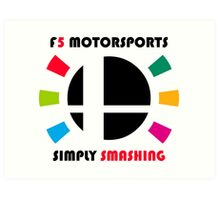 F5 Motorsports Art Print