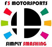 F5 Motorsports by davidjonesart
