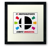 F5 Motorsports Framed Print