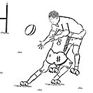 Typographic Rugby by Josh James
