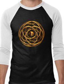 'Entwined Desires (Gold)' Men's Baseball ¾ T-Shirt