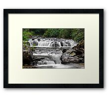 A Multitude of Waterfalls Framed Print