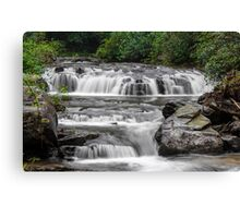A Multitude of Waterfalls Canvas Print