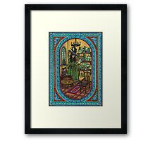 The Witch's Kitchen (Colour Image} Framed Print