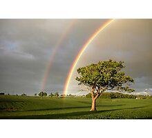 Wandon End Rainbow 1 Photographic Print
