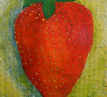 Strawberry, No Cream by Gitta Brewster