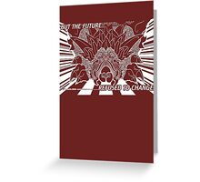 Lavos: First Form (WHITE)... Greeting Card