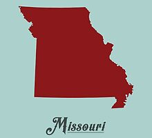 Missouri - States of the Union by Michael Bowman