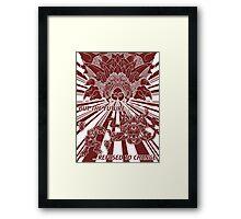 Lavos: All Forms (WHITE)... Framed Print