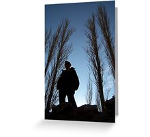 silhouettes Greeting Card
