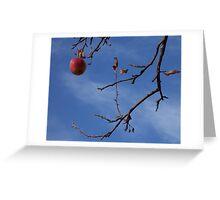 Last apple Greeting Card