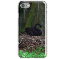 Mother Black Swan Nesting iPhone Case/Skin