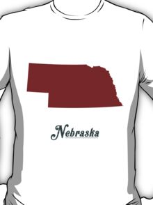 Nebraska - States of the Union T-Shirt