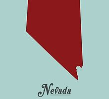 Nevada - States of the Union by Michael Bowman