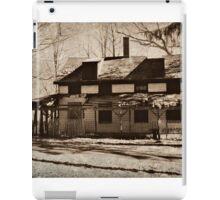 Abandoned Home in Daguerreotype iPad Case/Skin