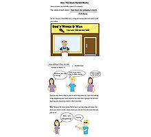 How The Stock Market Works  Photographic Print