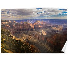 North Rim of Grand Canyon National Park Poster