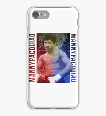 """Manny Pacquiao """"Pac-Man"""" iPhone Case/Skin"""