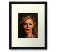 Elf Portrait Framed Print