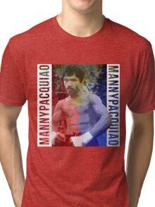 """Manny Pacquiao """"Pac-Man"""" Tri-blend T-Shirt"""