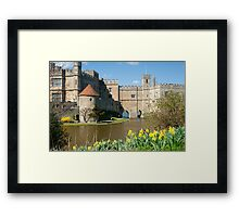 Leeds Castle Kent UK: Springtime Easter Framed Print