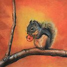 Little Red Squirrel  by Maria Hathaway Spencer