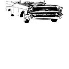 1957 Chevrolet Bel Air Convertible by garts