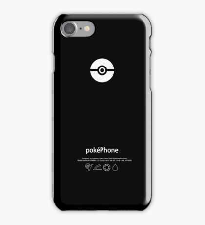 pokéPhone iPhone Case/Skin