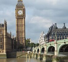 Big Ben & The River Thames by CatchYouLater