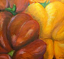 Illustrated Peppers by Gitta Brewster