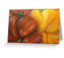 Illustrated Peppers Greeting Card